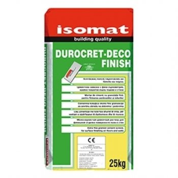 DUROCRET DECO FINISH WHITE 25KG