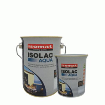 ISOLAC AQUA SATIN WHITE 2,5L
